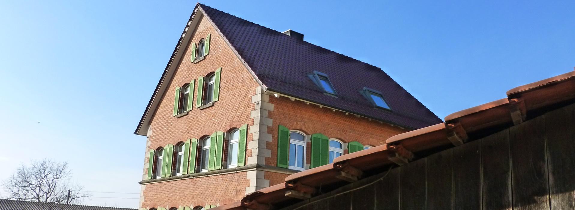 Wohnhaus Rems-Murr-Schwein Rainer, Silke, Andreas Mueller