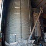 Getreidelagersilos So wird bei uns das Futter gelagert Andreas Rainer Mueller ems-Murr-Schwein